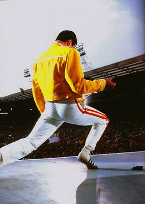 """Freddie Mercury UNSIGNED 6"""" x 4"""" photograph - Lead singer with Queen - M7322"""