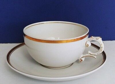 Vintage Old Brunswick Tea Cup and Saucer - Made in Germany