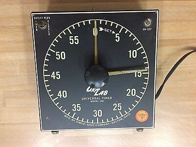 Dimco - Gray, Gralab photo timer mod #168 with inspection label intact.