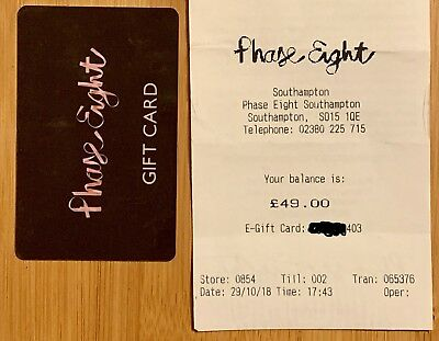 Phase Eight Store Gift Card - £49 Value