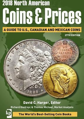 KRAUSE 2018 North American Coins & Prices A Guide to U.S., Canadian and Mexican