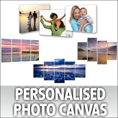 Canvas Print Your Personalised Photo Picture - ANY DESIGN, FREE ARTWORK