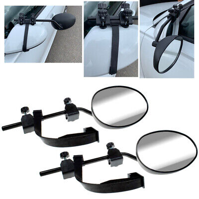 PREMIUM FIT 2 x caravan towing extension car wing mirrors Right & Left