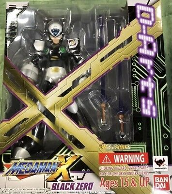 D-Arts Mega Man X BLACK ZERO Action Figure BANDAI TAMASHII NATIONS Japan (SEALED