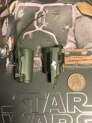 Hot Toys Star Wars ESB Boba Fett DELUXE MMS464 Gauntlets 1 loose 1/6th scale