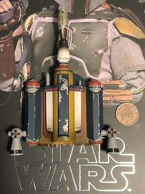 Hot Toys Star Wars ESB Boba Fett DELUXE MMS464 Jet Pack 1 loose 1/6th scale