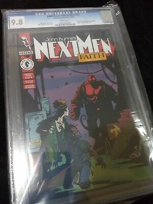 John Byrne's Next Men #21 CGC 9.8 first appearance of Hellboy