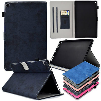 Smart Leather Case Cover For Amazon Kindle Fire HD 10 8 2018 2017 Paperwhite 123