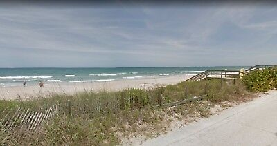 Vacant OCEANSIDE Beach Lot: Right On A1A Next to the Ocean! New Smyrna Beach, FL