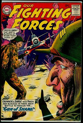 DC Comics Our FIGHTING FORCES #84 FN 6.0