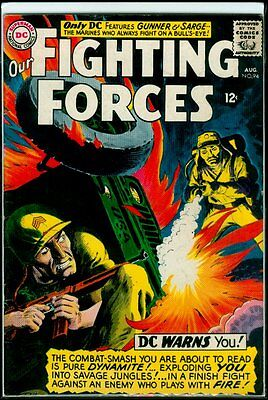 DC Comics Our FIGHTING FORCES #94 Gunner And Sarge FN 6.0