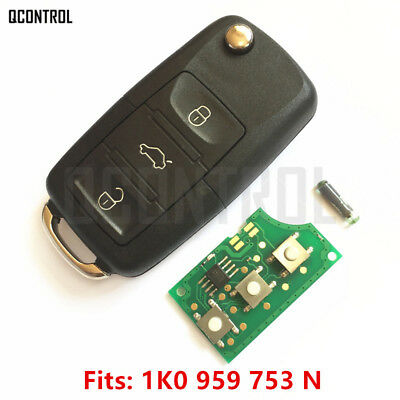 Car Remote Control Key Fob  for SEAT Altea Ibiza Leon Toledo 1K0959753N 434MHz