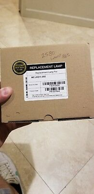 Acer MC.JH211.002 Replacement Lamp Used Oem 2580 Hrs On Lamp