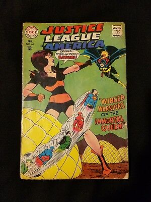 JUSTICE LEAGUE OF AMERICA #60 Silver Age F