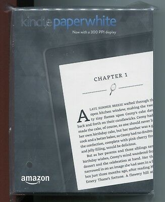 Amazon Kindle Paperwhite 4GB, Wi-Fi (Unlocked), 6 inch - Black NEW