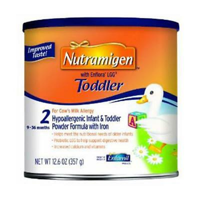 NEW MEAD JOHNSON 75YBzt1 1 EA Nutramigen with Enflora LGG Toddler 12.6oz 4893467