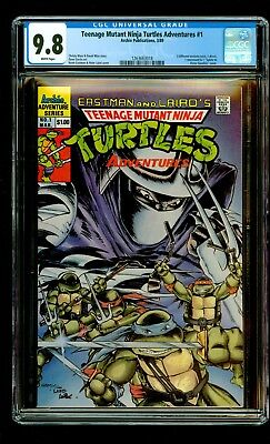 Teenage Mutant Ninja Turtles Adventures #1 (1989) CGC 9.8 EASTMAN ARCHIE COMICS