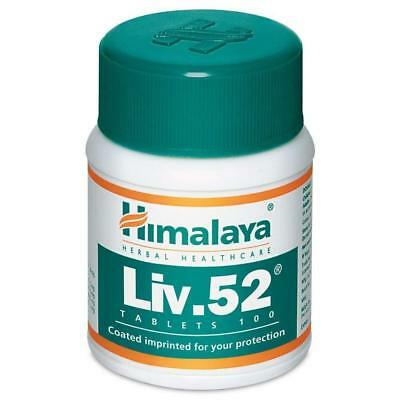 3 X Himalaya Liv 52 Liver Care Repair Unparalleled Liver Care Herbs( 100 tablet)