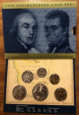 1998 RAM Uncirculated (UNC)  6 Coin Mint Set