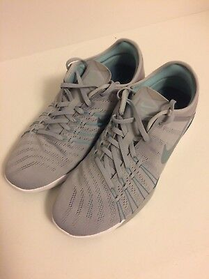 d8f22bd8a8bdd Nike Wmns Free TR 6 Cross Training Womens Shoes Grey Blue 833413-007 Size 10