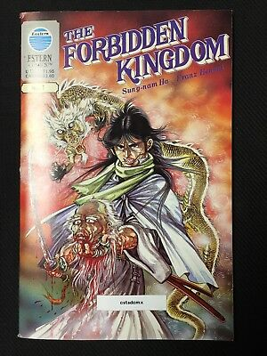 THE FORBIDDEN KINGDOM #1 DOUBLE COVER and PAGES 1988 EASTERN COMICS VERY RARE