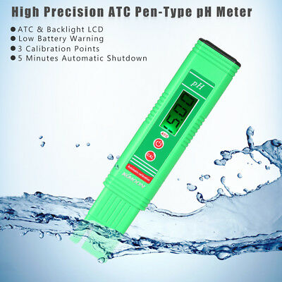 KKmoon LCD Digital pH Meter metre Compensation automatique de température B4Y4