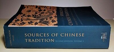 Sources of Chinese Tradition, Vol. 1 by William Theodore De Bary, Irene Bloom