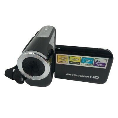 Mini Video Camera 2.0'' LCD DV Camcorder 4x Zoom Best Kids Children Xmas Gift