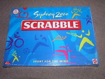 Sydney 2000 Olympic Scrabble Edition - New Sealed