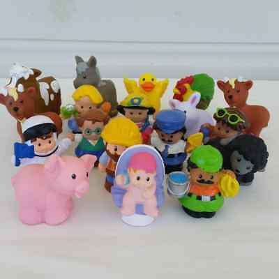 Little People Fisher Price Characters Figures and Animals Lot of 18