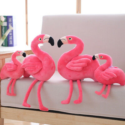 Flamingo Stuffed Animal Plush Soft Doll Toy Birthday Gift For Children Proper
