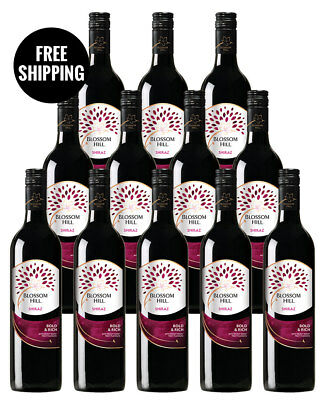 Blossom Hill Shiraz 2016 (12 Bottles)