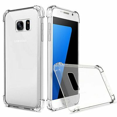 Ultra Clear Shockproof Hybrid Bumper Back Case Cover for Samsung Galaxy S7