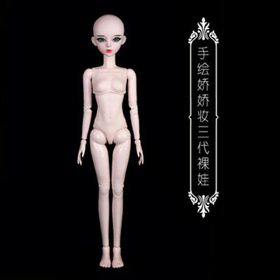 New 1/3 Handmade PVC BJD MSD Lifelike Doll Joint DollS Baby Gift New Aline 24""