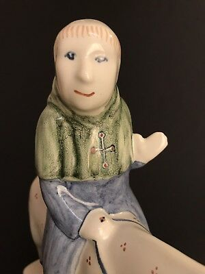 Rye Pottery Canterbury Tales ~ The Friar