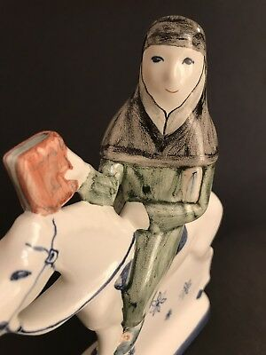 Rye Pottery Canterbury Tales ~ The Oxford Cleric