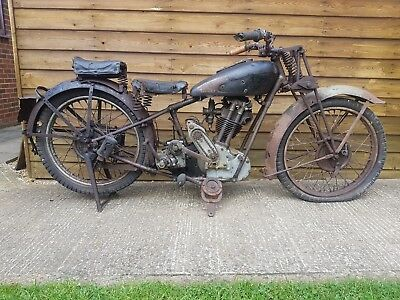 1932 350 Royal Enfield Model G Bullet | Barn Find/Project