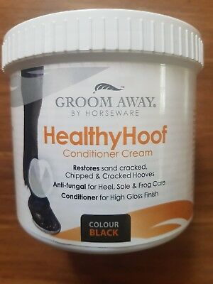 Groom Away - Healthy Hoof Conditioner Cream 500ml  (Black)
