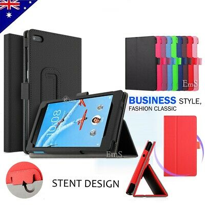 For Lenovo Tab E7 E8 Folding Stand PU Leather Business Heavy Duty Case Cover