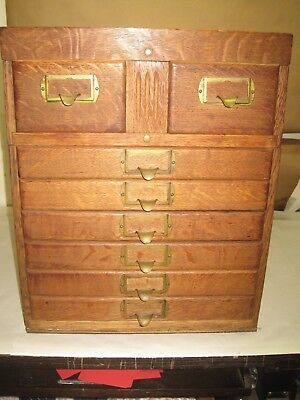 Antique Collector Cabinet Library