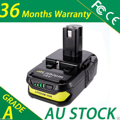 For Ryobi 18V One Plus P102 P108 Lithium Battery BPL-1815 BPL-1820G CORDLESS