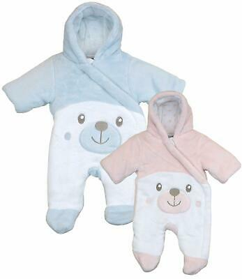 BabyPrem Premature Tiny Baby Clothes Thick Padded Pramsuit Snowsuit 5-8lb