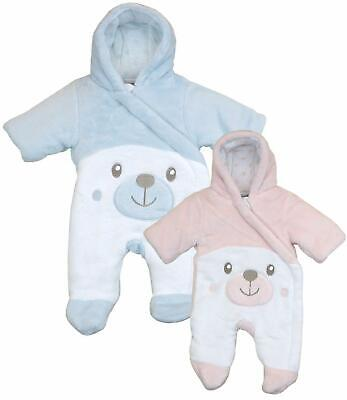 BabyPrem Premature Tiny Baby Padded Pramsuit Snowsuit Preemie Baby Clothes 5-8lb