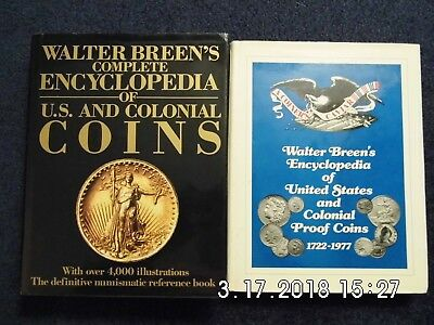Complete Encyclopedia of US Coins & US Proof Coins - 2 Volumes by Walter Breen
