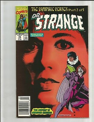 DR. Strange 15  (1990)  NEWSTAND!!  RECALLED AMY GRANT COVER!!  HIGH GRADE!!