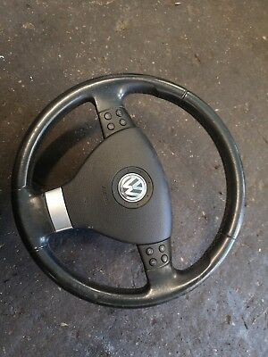 2003-2009 MK5 Volkswagen Golf TOURAN CADDY T5 STEERING WHEEL Leather 1Q0419091