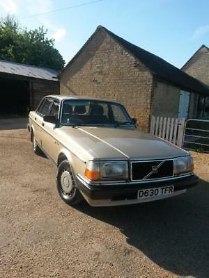 1987 Volvo 240 GLE Immaculate Timewarp Condition 32000 Miles One Owner Near Mint
