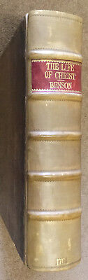 1764 - BENSON, George. The History of the Life of Jesus Christ