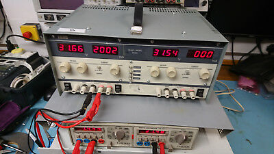 Thurlby TTI PL320QMD Variable bench power supply twin channel 32V 2A quad mode B