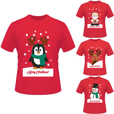 Mens Womens Adults Unisex Novelty Christmas Xmas T-shirt Top Tee Festive Gifts